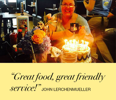 Great food, great friendly service!