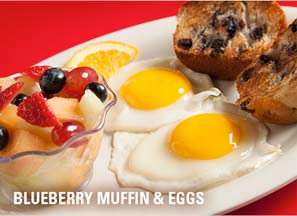 blueberry maffin eggs
