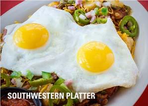 southwestern platter