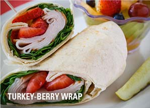 turkey berry wrap