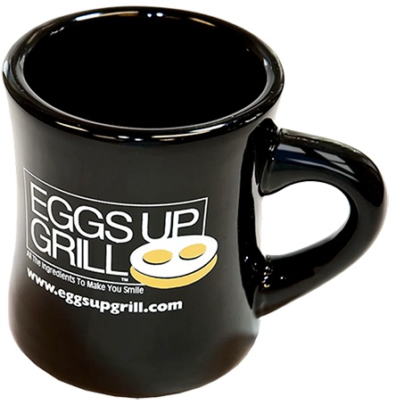 EGGS UP GRILL MUG -tall