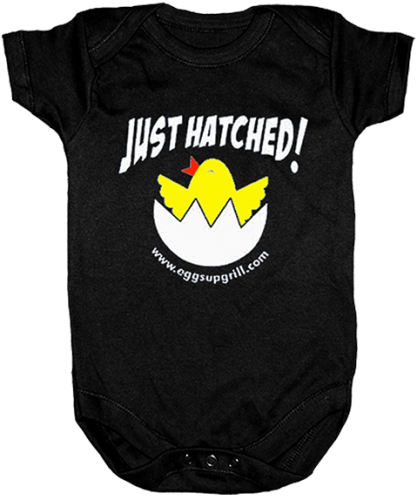 JUST HATCHED ONESIE
